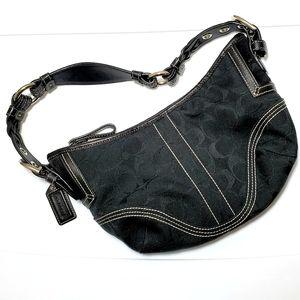 Coach Black Hobo Purse Shoulder Bag